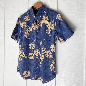 REYN SPOONER Hawaiian Button Down Shirt M